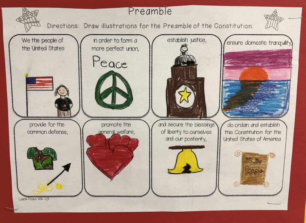 Illustrating the Preamble activity
