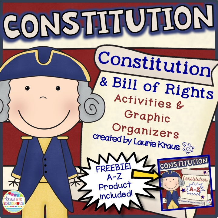 Click here for Constitution Activities and Graphic Organizers